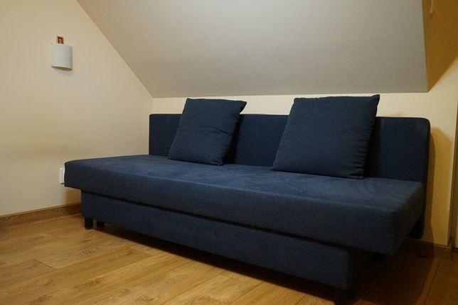 Sofa Asarum IKEA mało używana, stan bdb, granatowa