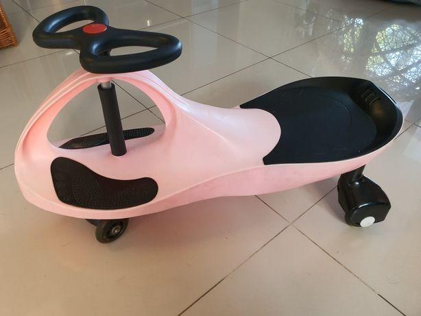 Pojazd dla dzieci napędzany kierownicą sprawny do 80kg