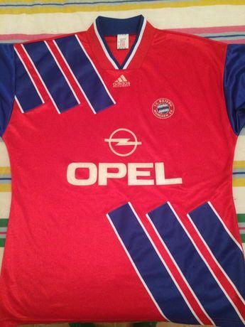 Camisola vintage Bayer Munique 1993/95
