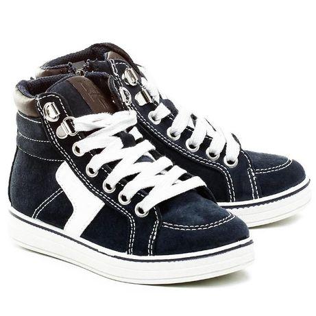 PRIMIGI 34 genialne włoskie buty chłopięce skórzane idealne jesienne