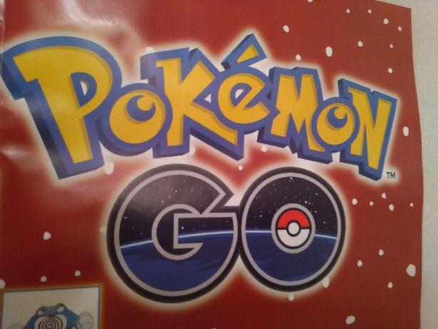 2016 Nintendo Poster Pokémon Go - Tamanho 83 cm x 60 cm