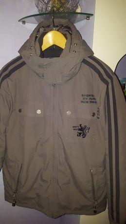 Куртка мужская(подросток),серого цвета