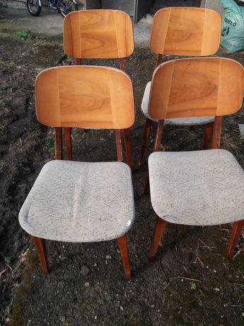 Krzesla 5 szt z lat 70
