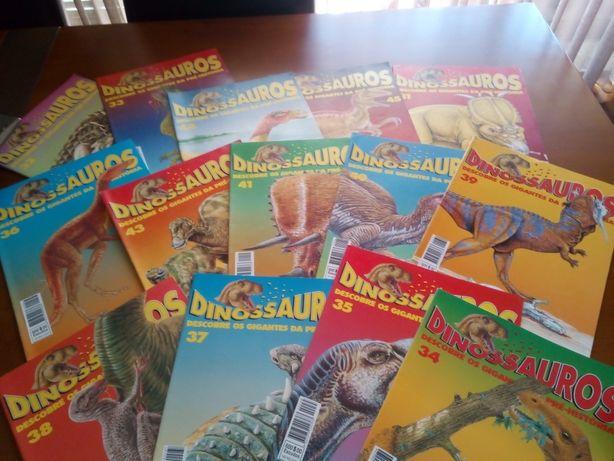 Revistas Dinossauros Vintage