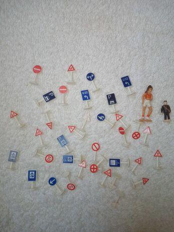 Znaki drogowe miniaturki PRL