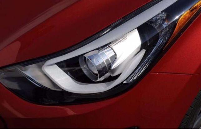 Оригинальные фары правую и левую Hyundai Elantra Md 2011-2016 Америка.