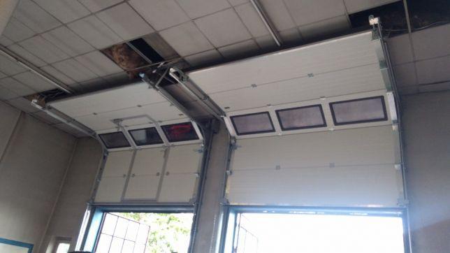 PRODUCENT brama segmentowa garażowa przemysłowa bramy garażowe ŁAŃCUT