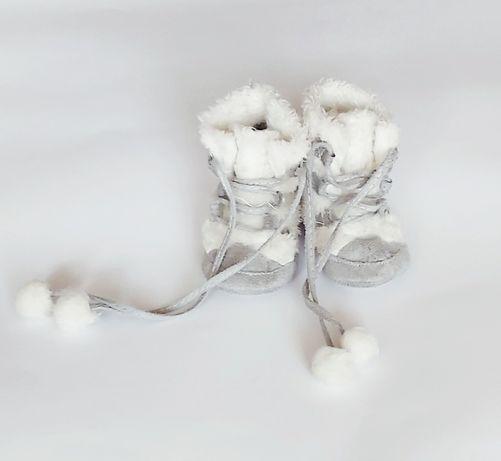 Coccodrillo buciki mukluki futrzane ciepłe