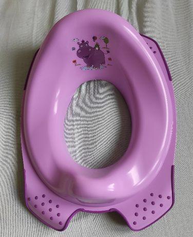 Nakładka na sedes dla dziecka różowa