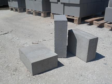 bloczki betonowe fundamentowe 38 x 24 x 12