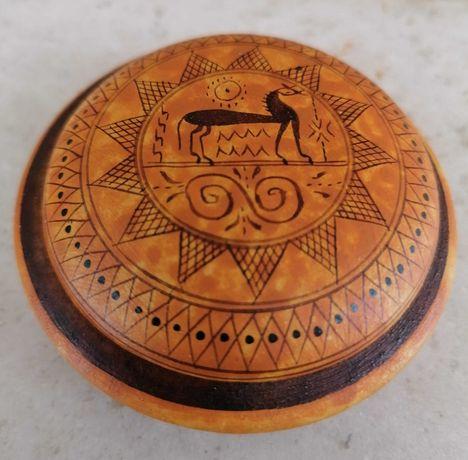Caixa em cerâmica - Grécia