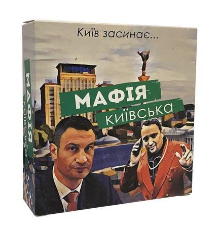 Настольная игра Мафия Киевская (Мафія Київська)