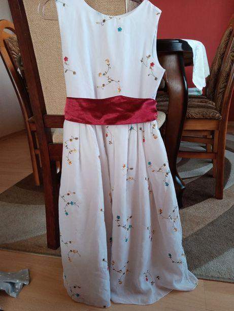 Sukienka sukieneczka rozmiar128