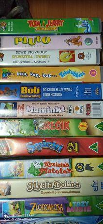 Kasety VHS bajki