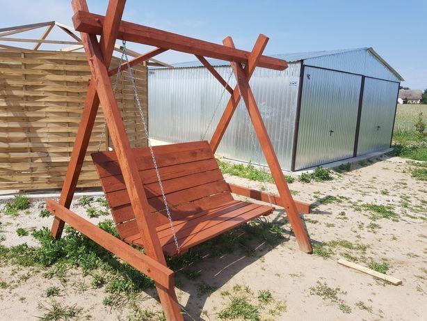 Huśtawka bujana , meble ogrodowe, sauna