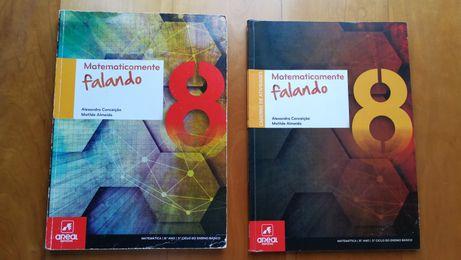 Matematicamente falando 8 Manual +Caderno