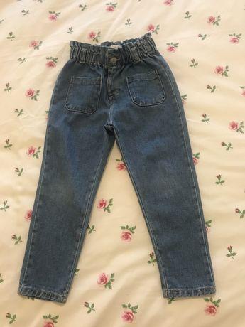 Jeans Zara modelo paperbag ou baggy