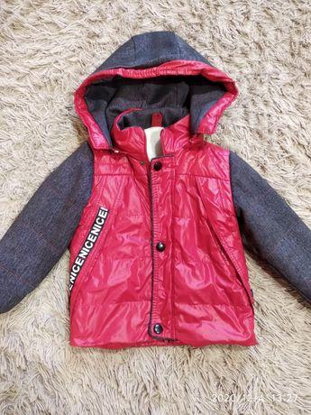 Куртка на хлопчика, весна-осінь