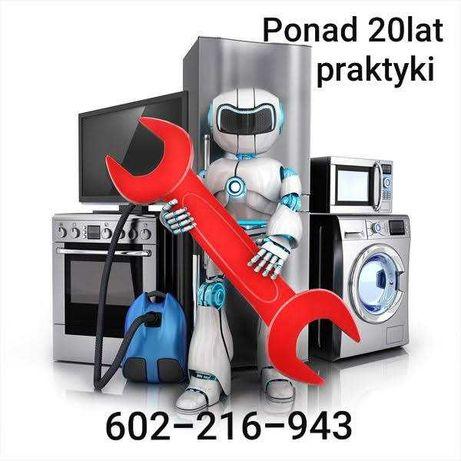 Naprawa AGD, RTV- pralek,zmywarek,lodówek,telewizorów