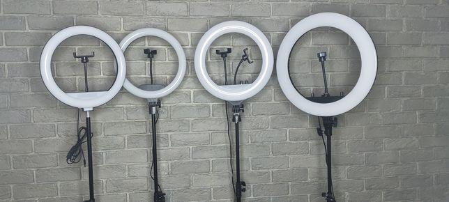 Кольцевые лампы разных диаметров