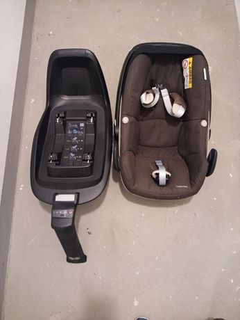 Nosidełko Maxi Cosi Pebble plus z bazą 2wayfix