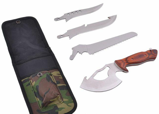 Туристический набор 4в1 нож топор пила