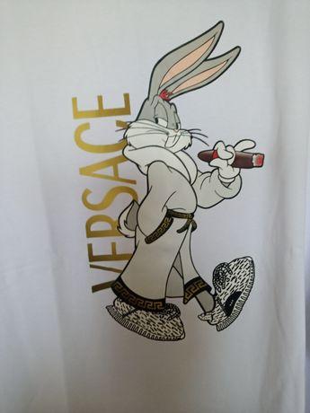Nowa bluzka z aplikacją królika 48