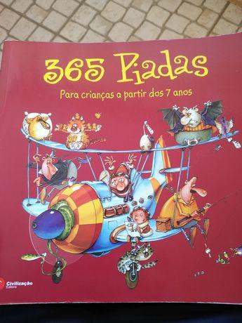 Livro 365 piadas para crianças a partir dos 7 anos