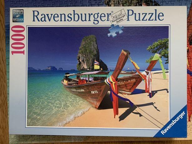Puzzle Ravensburger 1000 el. Plaża Phra Nang Tajlandia
