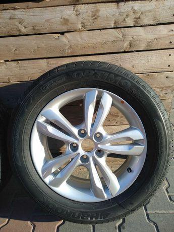 "Felgi z oponami 225/60R17 Hyundai ix35 Tucson 5x114,3 Kia Sportage 17"""