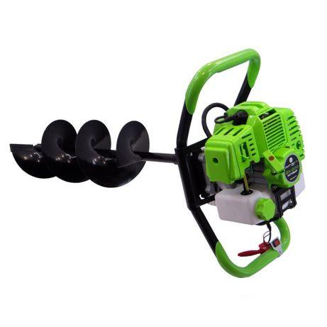 Мотобур Craft-tec PRO (Шнек 200х80 в комплекте/2.5кВт/Расход 0.6л.час)