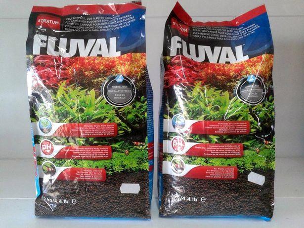 Fluval Stratum - Substrato vulcânico para camarões/plantas