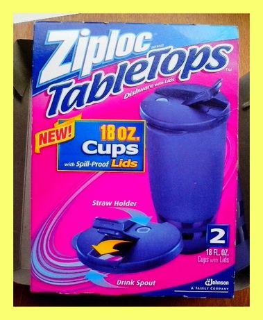 Кружки «Ziploc-TableTops» (США).