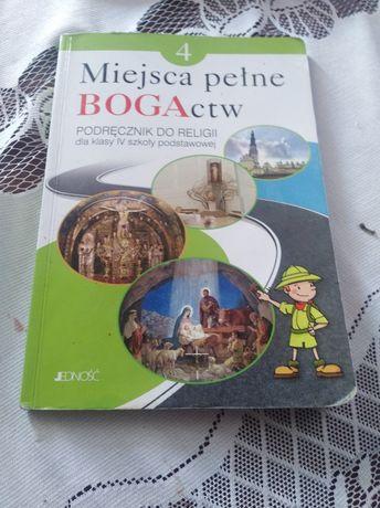 Podręcznik religia klasa 4 Miejsca pełne BOGActw