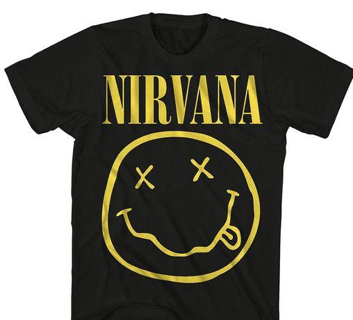 Tshirt oh yes nirvana ramones
