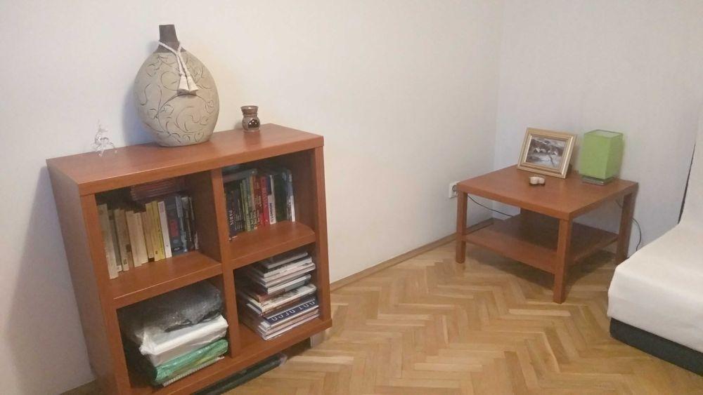 Szafka + stolik kawowy. Zestaw. Regał, cztery półki, calvados. Wrocław - image 1