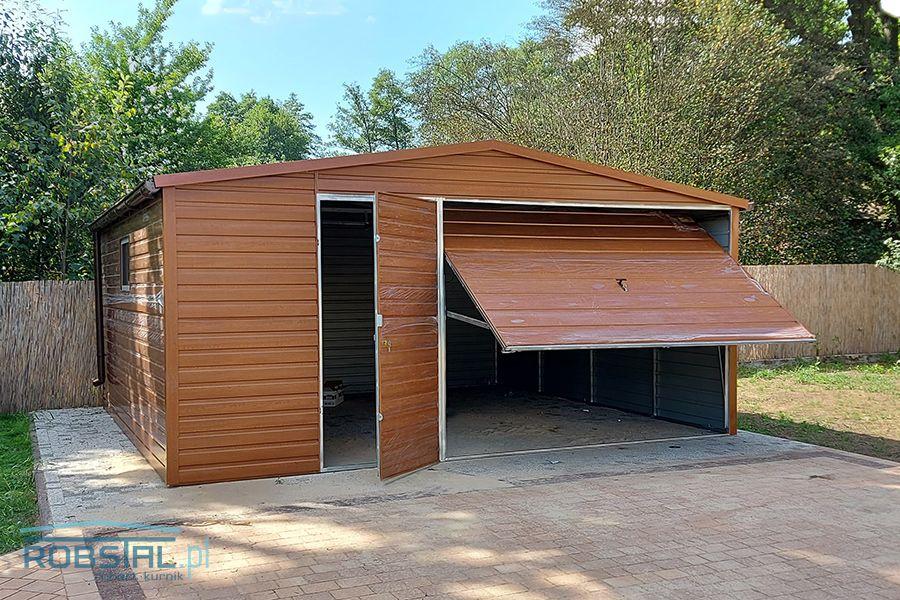 Garaże blaszane bramy garażowe na wymiar kojce dla psów MONTAŻ GRATIS