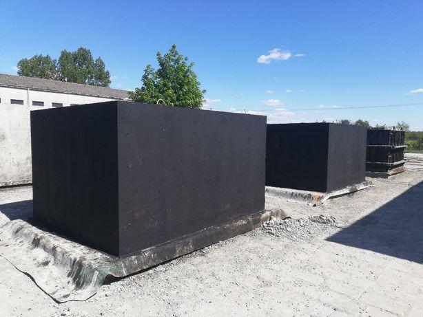 Szamba szambo betonowe zbiornik deszczówka 12m3 4-12m3 producent
