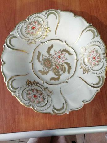 Talerz porcelanowy Kruger Geiersthal.