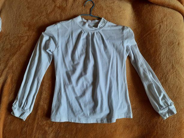 Блузка, гольф, футболка на 1-2 класс, 1 сентября, 1 звонок, школьная