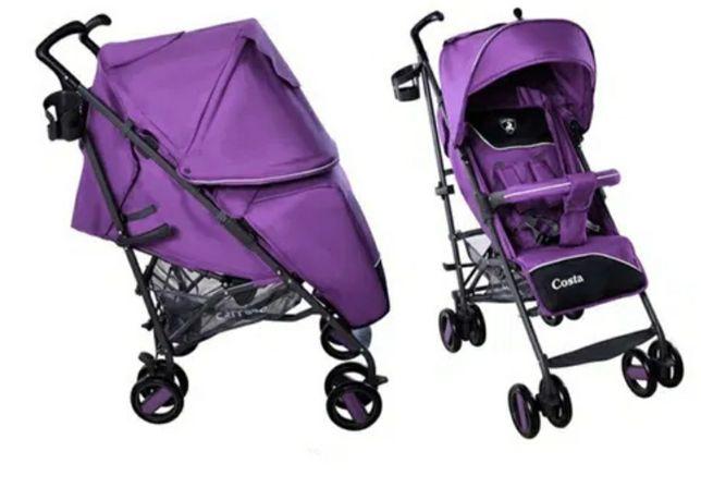 Коляска-трость Carrello CRL-1409 Costa Striking Purple, фиолетовы