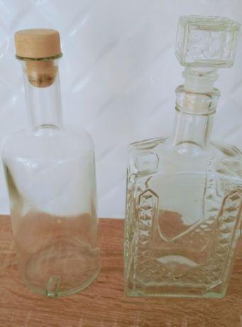 Butelka karafka do wódki lub nalewki