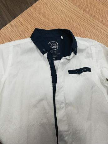 Koszula elegancka dla chłopca r. 110 Coolclub