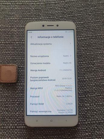 Xiaomi Redmi 4X 32 GB kolor Rose Gold