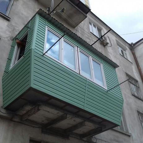 Балконы. Расширение, ремонт, реконструкции.