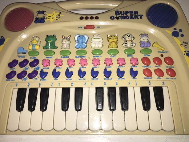 Interaktywne pianinko organki Simba
