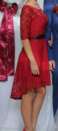 Платье сукня червона красное