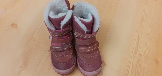 Buty dziewczęce zimowe rozmiar 30