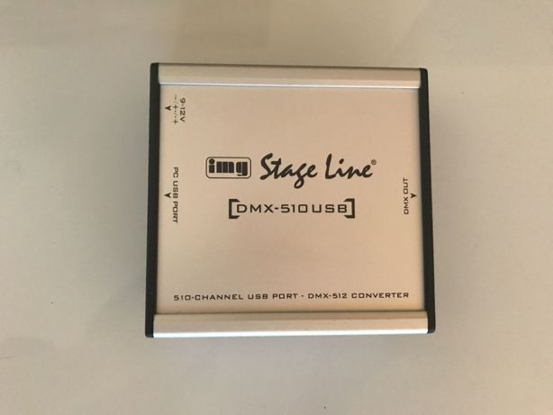 IMG Stage Line DMX-510USB Interface DMX