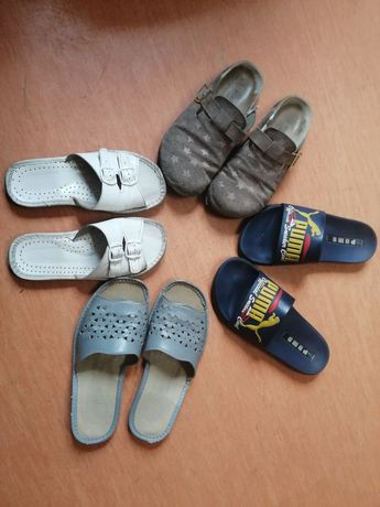 Papucie męskie, buty męskie letnie, w dobrym stanie